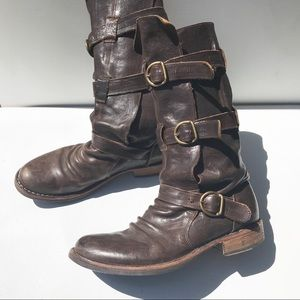 FIORENTINI + BAKER Brown eternity BOOTS 40 9 9.5
